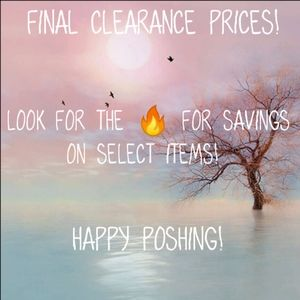 🔥Final Clearance Prices🔥